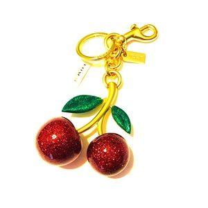 COACH Cherry Key / Purse Charm NWT gift box